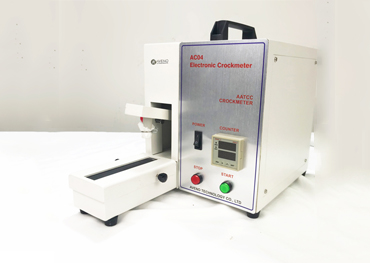 Operate Steps of Electronic Crockmeter