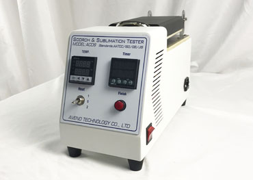 New Design for AC09 Scorch & Sublimation Tester